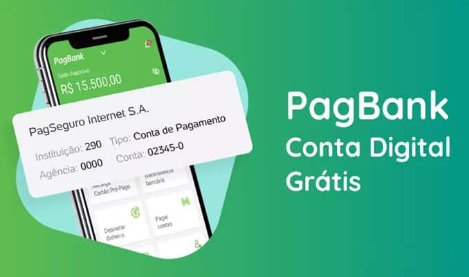 instrutor financeiro conta digital pagbank