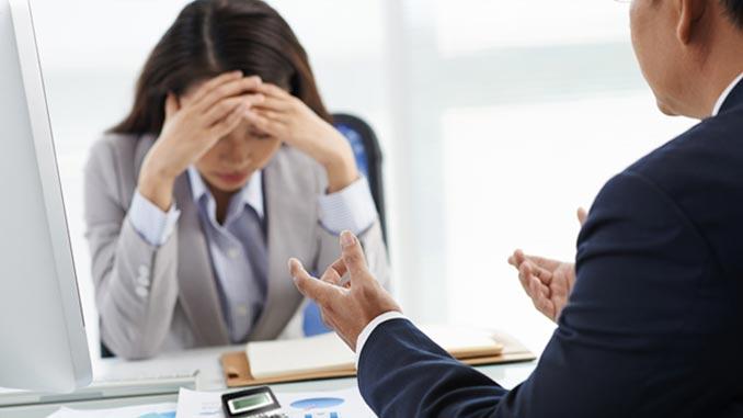 instrutor financeiro empréstimo negado