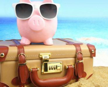 instrutor financeiro economizando na viagem