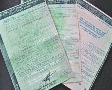 instrutor financeiro certificado de registro de veiculo