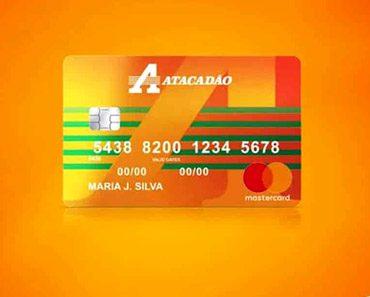 instrutor financeiro cartão de credito atacadão