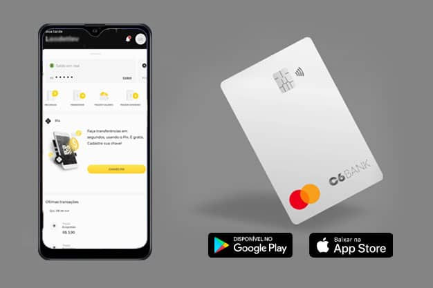 instrutor financeiro banco conta digital c6 bank - C6 bank
