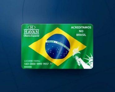 instrutor financeiro cartão de crédito havan